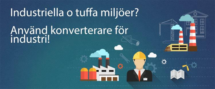 Industriella konverterare klarar mer