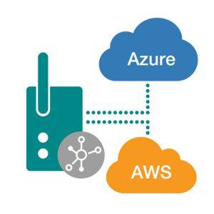 Bild som symboliserar att Moxas Edge gateway är optimal för att hantera en stor mängd fältenheter och fungerar utmärkt med programvarorna AZUR och AWS Greengrass