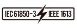 Godkänd för järnväg Wayside enligt bilden IEC 61850-3