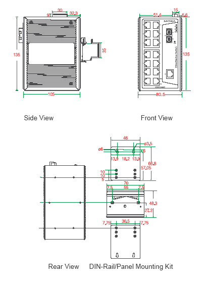 EDS-316_dimensions