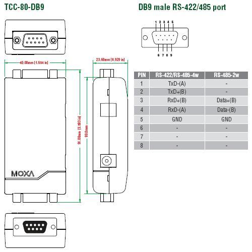 TCC-80-DB9_Dimensions