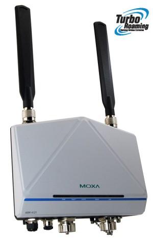 Robust Accesspunkt som kan agera brygga eller klient. Arbetstemeperatur -40 grader C till + 75 grader. IP 68, klassad.