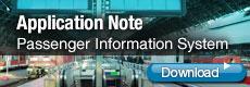 Knapp för att ladda ner ett exempel på hur ett system för passagerar information kan skapas PIS för järnväg, turistbussar och kollektivtrafik