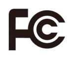 Logotyp FCC certifikat