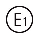 Bild på logo som visar E1 certifierad