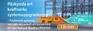 MGate 5114 är en protokollkonverterande gateway för Midbus RTU, TCP, IEC-101 och IRC 104