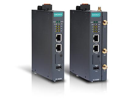 Storebror bland befintliga IIoT Gateways med dubbla SIM, A7 dual-core CPU nämligen UC-8200 cellular