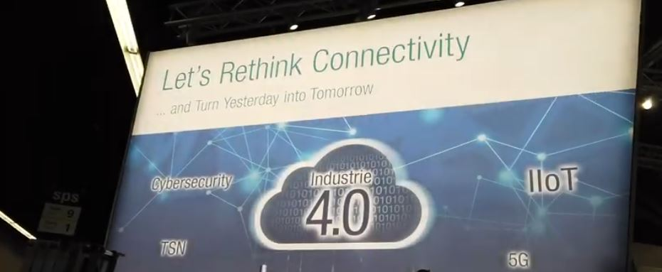 Moxa Let´s rethink connectivity and turn yesterday into tomorrow Industri 4.0 5G Cybersecutity and TSN