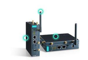 UC-8200 serien, inbyggd LTE Cat.4 /-40 till +85 grader C, utökat temp. område, C1D2 och ATEX godkänd IIoT gateway