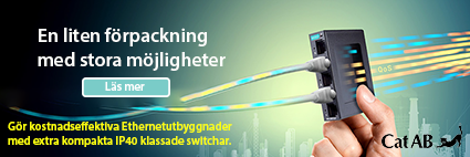 Nya kompakta Ethernetswitchar EDS-2000
