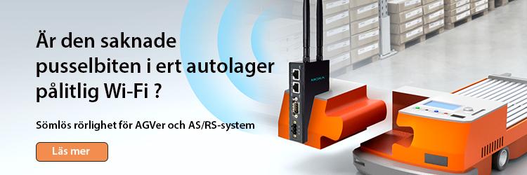 Höj era AGVer och ASRS-system ett pinnhål eller två