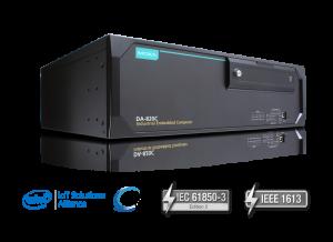 Da-820C från Moxa Intels IoT Alliance, PRP/HSR, IEC61850 IEEE 1613