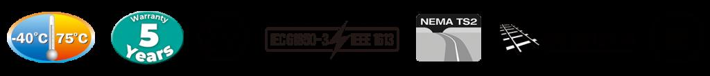 Industriella Cerifikat såsom EX NemaRS2 EX  DNV