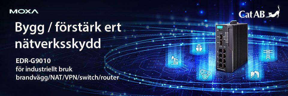 """Bygg första linjens nätverksskydd med Moxas nya EDR-, en """"All-in-One"""""""
